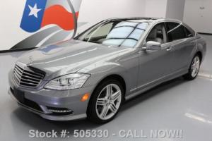 2013 Mercedes-Benz S-Class S550ATIC AWD PANO SUNROOF NAV