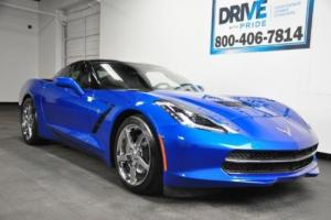2014 Chevrolet Corvette 3LT 10K 1 OWN FACT WRNTY BOSE HUD NAV CAM REMOTE START