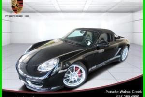 2011 Porsche Boxster Spyder Certified