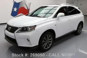 2015 Lexus RX AWD F-SPORT SUNROOF NAV RED SEATS