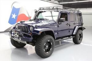 2013 Jeep Wrangler UNLTD RUBICON HARD TOP 4X4 LIFT