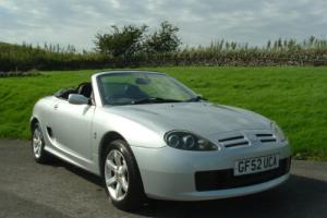 2002/52 MG TF 135. 49800 Miles and essential CHG upgrade done with Cam Belt kit.
