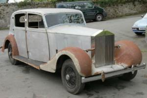 1939 Rolls-Royce Wraith Park Ward Saloon WEC81