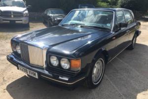 Bentley Eight, Black, 1990, Mulsanne Grille.
