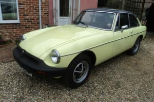 mgb gt 1976 tax exempt clean example