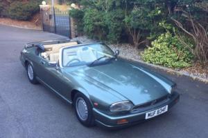 jaguar xjs v12 convertible TWR