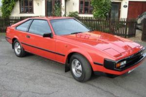 "TOYOTA CELICA SUPRA ""L"" - 2759CC - 3 DOOR COUPE -RED 1983 - MOT SEPTEMBER 2017"