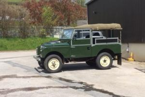 """Landrover Series one 86"""""""