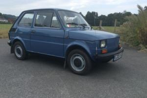 1988 Aircooled Fiat 126 Only 8K Miles From New !  Amazing Condition !