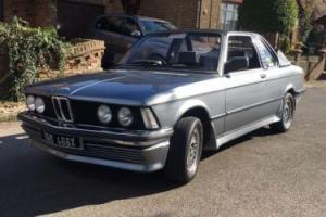 BMW 320i baur e21 (barn find, classic)