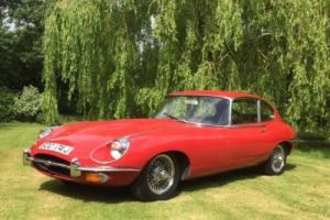 E Type Jaguar RHD Manual