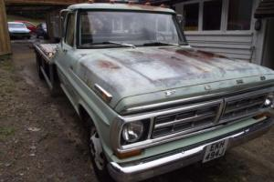 1971 Ford F350 Recovery Truck