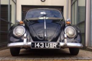 classic 1958 vw beetle