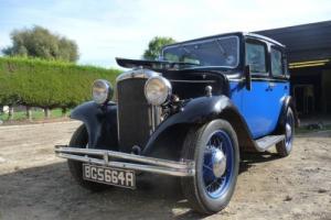 Early and rare 1933 Prewar Hillman Minx DeLuxe in very good original condition