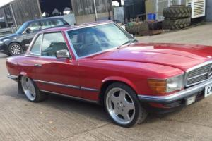 1985 MERCEDES BENZ 500SL 103000 HARD TOP ROOF GOOD CONDITION