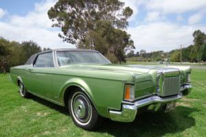 1970 Ford Lincoln Coupe V8 Auto
