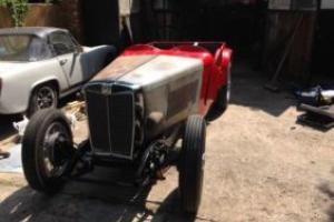 Classic car 1936 MG TA/TC