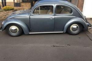 vw beetle oval 1956 RHD
