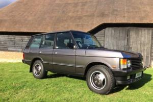 Immaculate Range Rover Classic Vogue SE