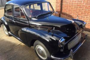 Morris minor saloon 1957