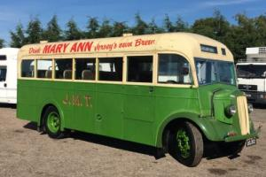 1948 Morris Commercial CVF13/5 27 seat bus OSJ512 ex Jersey Last One Existing