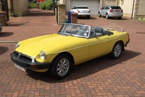 MGB Roadster in Stunning Snapdragon Yellow Photo