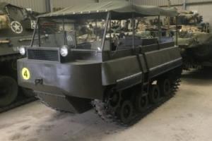 Atkinson Alligator Rare Tracked Military Vehicle 1946 Photo