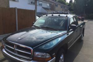 DODGE DAKOTA 1997 3.9L V6 2WD MANUAL KING CAB SLT AMERICAN PICK UP TRUCK NO SWAP