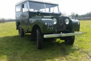 landrover series 1 petrol 2litre original 1958