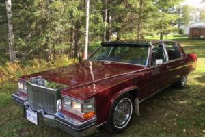 1984 Cadillac Fleetwood D'Elegance