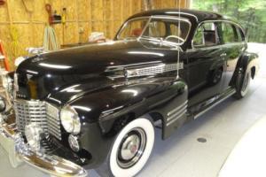 1941 Cadillac 63 series 4-door 63 series 4- door