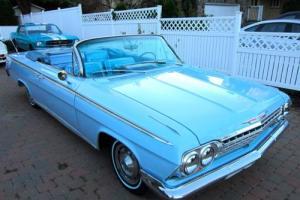 1962 Chevrolet Impala **SHIP WORLDWIDE**RUST FREE**BARN FIND**1 OF 928**