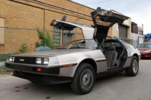 1982 DeLorean DMC DMC-12