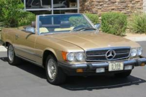 1983 Mercedes-Benz 380SL Convertible 2dr Convertible 380SL