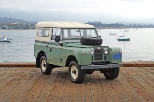 1965 Land Rover Series IIA Series IIA 88 LHD