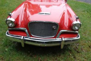 1957 Studebaker coupe silver hawk