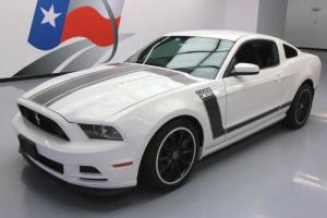 2013 Ford Mustang BOSS6-SPEED RECARO SEATS