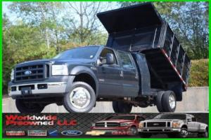 2006 Ford F-550 Chassis XL Dump Truck