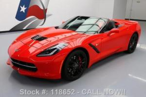 2014 Chevrolet Corvette STINGRAY Z51 CONVERTIBLE 3LT NAV