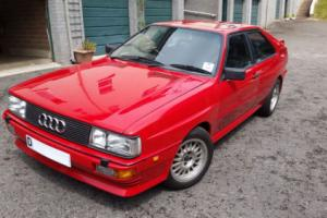 Audi Quattro Turbo 1987