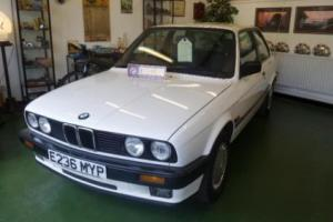 BMW 3 SERIES E30 316 AUTOMATIC 2 DOOR COUPE, White, Auto, 1988 Must see