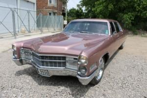 PRICE REDUCED! Pink Cadillac! 1965 Fleetwood 75 Limousine.  Excellent condition! Photo