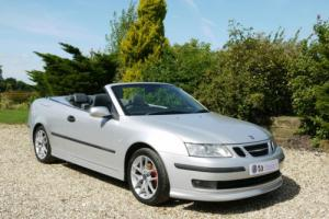 2006 Saab 9-3 Vector Turbo 150 BHP Convertible. Only 58,000 Miles