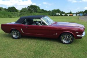 1965 Mustang convertible V8 Automatic rust free and in excellent condition