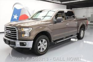 2015 Ford F-150 CREW 4X4 5.0 TEXAS ED REAR CAM