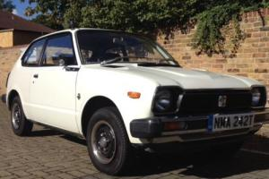 Honda Civic 1979 Mk1 in white, very original and good condition, new MOT