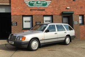 1988 Mercedes W124  Series 200T, Totally original, 23 services and every MOT