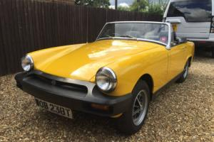 1978 MG Midget 1500 - 51200 miles - one previous owner