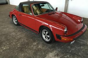 PORSCHE 911S 1977 TARGA  THIS CAR NOW SOLD
