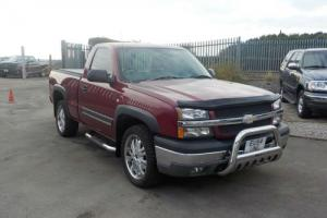 2004 CHEVROLET Z74 REGULAR CAB 5.3 LITRE AUTO 4.4 RIGHT HAND DRIVE